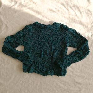 💛[3/$15] Streetwear Society Lace Crop Top